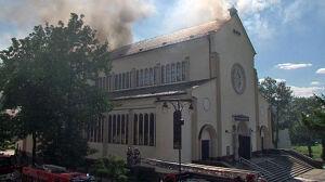 Parafianie zbierają pieniądze na remont spalonego kościoła