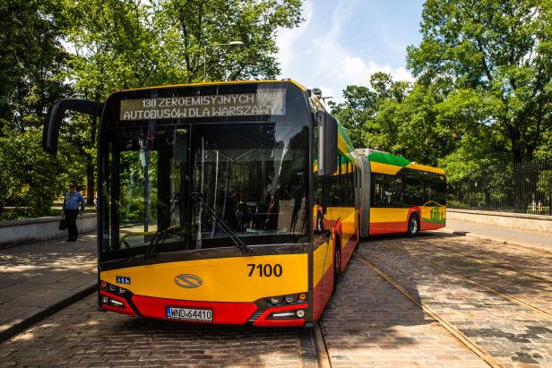 Pierwsze z zamówionych Solarisów Urbino 18 Electric Urząd Miasta