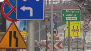 64 znaki na kilometr drogi