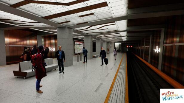 Tak ma wyglądać stacja metra Wolska Urząd Miasta