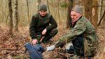 Poturbowany bielik znaleziony w mazurskich lasach