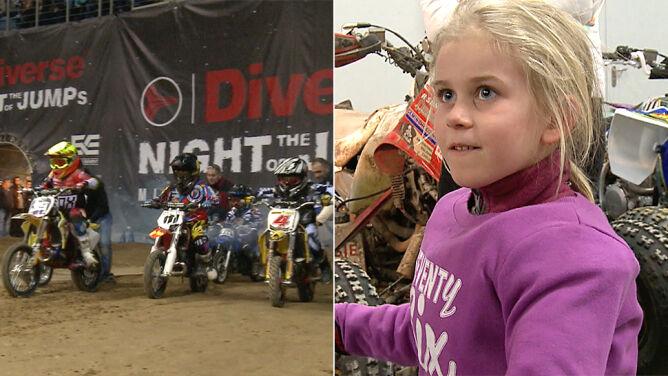 Ma 6 lat, od 4 jeździ na motorze