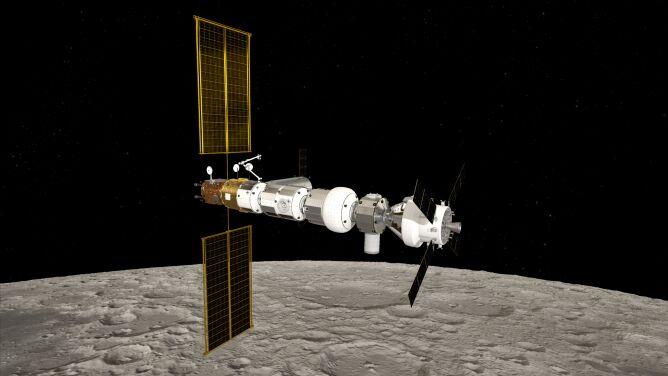 """ESA wyśle ludzi na Księżyc. <br />""""Jest jak ósmy kontynent"""""""