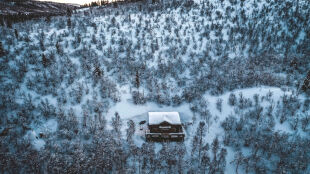 Rekord mrozu tej zimy w Finlandii. Było prawie -38 stopni