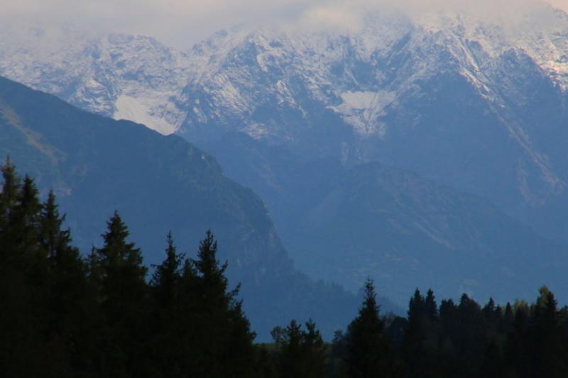 Najwyższe szczyty Tatr zrobiły się białe (Kontakt 24/ Paweł)
