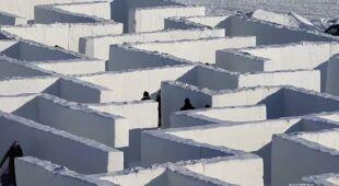 Największy na świecie labirynt śnieżny